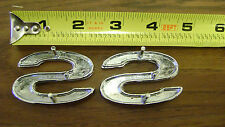SS 396 Fender Emblem 6pc set 69-72 Chevelle El Camino