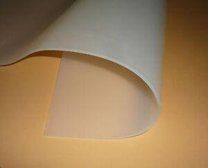 Silikon 60, Silikon-Platte, transparent, 5 mm,  lebensmittelecht,  FDA Zulassung