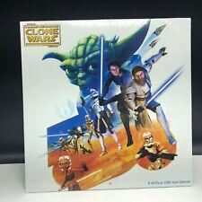2010 STAR WARS CLONE CALENDAR sealed wall posters yoda anakin obi wan droids esb