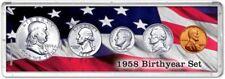 Birth Year Coin Gift Set, 1958