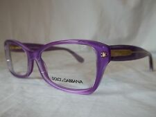 DOLCE & GABBANA D&G EYEGLASS FRAME DG3176 2772 VIOLET PEARL PURPLE 54MM NEW AUTH