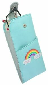 Mala Leather Rainbow Collection Leather Glasses Case 5170_49