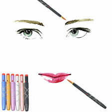 New Portable Makeup Lipstick Retractable Lip Brush Eyeliner Cosmetic Brushes