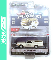 1972 Ford Ranchero Greenlight Hot Pursuit Series 34 1/64 Die Cast IN STOCK