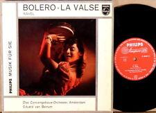 "PHILIPS 10"" MINIGROOVE Ravel VAN BEINUM Bolera/La Valse G-05349 R"