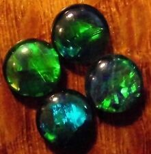OPAL  TRIPLETS A+  FOR STUDS OR EARRINGS 4 of 6mm  1.57 carats AUSTRALIA