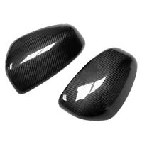 Carbon Fiber Side Rearview Wing Mirror Cover Fit For Nissan 370Z Z34 2009-2019