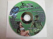 TROMA ENTERTAINMENT 80 MIN TEASER RARE PROMO DVD TOXIC AVENGER LOW BUDGET HORROR