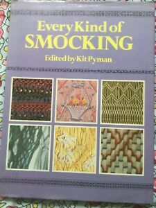 Every kind of Smocking Original Designs  Quality Book pyman