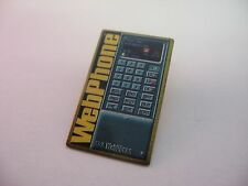 Vintage Old School WEBPHONE Cell Phone Mobile Pin
