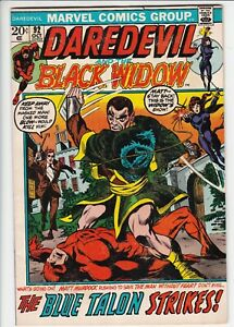 Daredevil # 92 FN- (5.5) Black Widow. Marvel. W/OW pages