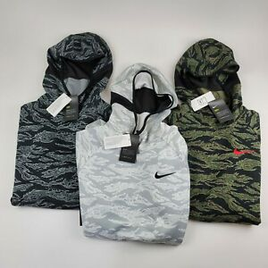 Nike Dri-FIT Men Allover Print AOP Camo Spotlight Basketball Hoodie NWT AV8958 M