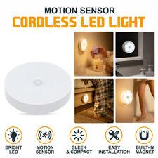 LED USB Rechargeable PIR Motion Sensor Closet Night Light Under Cabinet Lamp