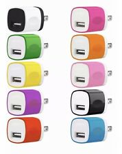 10x Color 1A USB Wall Charger Plug Home Power Adapter FOR iPhone Samsung