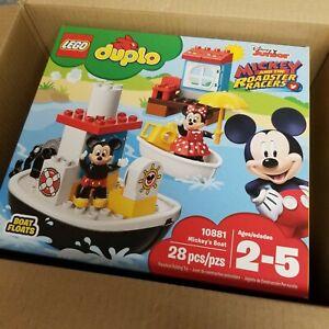 NEW LEGO |  Duplo Disney Junior - Mickey's Boat 10881