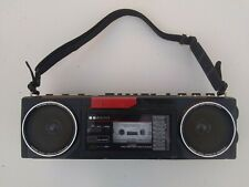 USED Vintage SANYO 4 BAND STEREO RADIO CASSETTE RECORDER W/Shortwave Model M-GT7