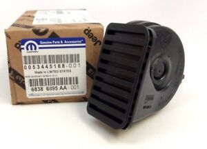2011-2018 Jeep Grand Cherokee Dodge Durango Low Note Horn And Bracket New OEM