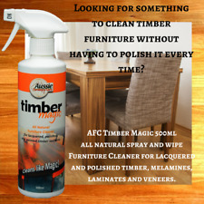 AFC Timber Magic Furniture Cleaner for Timber, Melamine & Veneer Surfaces