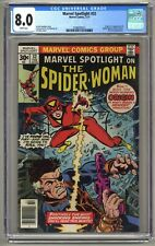 Marvel Spotlight 32 (CGC 8.0) White p; 1st app. Spider-Woman; Newsstand (j#5986)