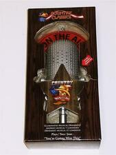 Musical Microphone Christmas Ornament You're Gonna Miss This trace Adkins