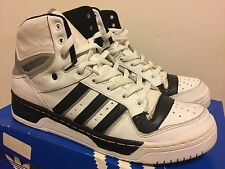 Adidas Attitude Hi R. White/Black/Grey 2002 Size 13 Pre-Owned Boost RUN-DMC