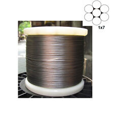 0.3mm 1x7 Stainless Steel Cable Wire Rope 15m