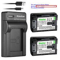 Kastar Battery Slim Charger for JVC BN-VG114 & JVC Everio GZ-HD500SEU GZ-HD620-B
