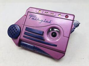 Talkgirl VTG Deluxe Tiger Cassette 1992 Purple Tape Recorder (NOT WORKING, READ)