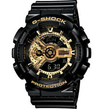 Casio G-Shock Analogue/Digital Mens Black/Gold X Series Watch GA-110GB-1A