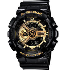 Casio G-Shock Analogue/Digital  Black/Gold X Series Men's Watch GA-110GB-1ADR