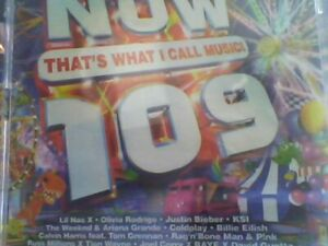 NOW THAT'S WHAT I CALL MUSIC 109 (Now 109) 2 CD new not sealed free post