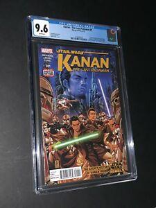 Star Wars Kanan The Last Padawan #1 CGC 9.6 1st Appearance Sabine Wren (019)