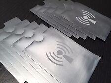 10 NFC Schutzhüllen | NFC Blocker | Datenschutz für EC-Karte, Kreditkarte, usw.