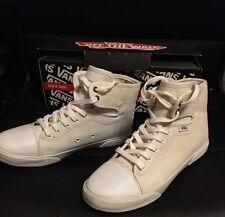Vans Hadley White Shoes Women Size 6