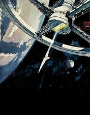 2001 A SPACE ODYSSEY TEXTLESS VINTAGE MOVIE POSTER  FILM A4 A3 ART PRINT CINEMA