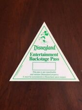 """1970's Disneyland (Mickey Mouse), """"Un-Used"""" Backstage Pass (Scarce)"""