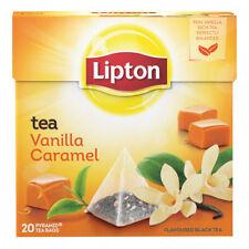 Lipton Tee 5 x 20 = 100 Beutel Tea Vanilla Caramel - Vanille Karamel,Schwarztee