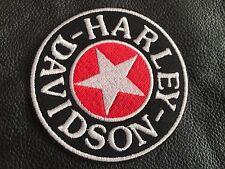 Harley Davidson SHERMAN STAR- Patch-MC,Biker,Kutte,Scull,Harley,8,2cm-Neu
