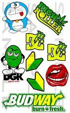 DGK, Weed, Kit 01,Budway, Car, Sticker, JDM, Drift, Van, Bike