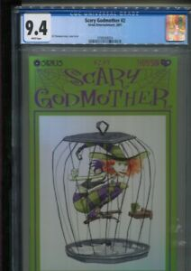 SCARY GODMOTHER 2 JILL THOMPSON STORY, COVER & ART BEST & ONLY CGC NEAR MINT 9.4