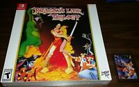 Dragon's Lair Trilogy Limited Run Games W/Card (Nintendo Switch 2019)