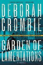 GARDEN OF LAMENTATIONS - CROMBIE, DEBORAH - NEW HARDCOVER BOOK