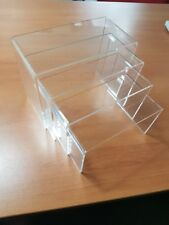 Set of 4 acrylic risers, brand new and great quality and CHEAP!!!