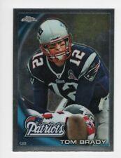 2010 Topps Chrome Football Tom Brady New England Patriots #C80