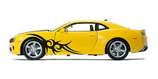Tribal Custom FLAMES Car Truck Side Decals sticker Vehicle Graphic Set of 2