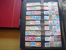 ROUMANIE - 63 timbres obliteres (tout etat) stamp romania