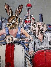 GILLIE AND MARC. Direct from Artists. Authentic Art Print. 'Shanghai' 'Travel'