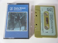 CARLY SIMON ANTICIPATION CASSETTE TAPE 1971 PAPER LABEL ELEKTRA