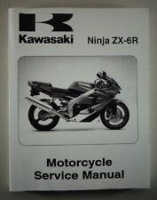 Workshop Manual Kawasaki Ninja ZX-6R From 08/2000