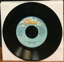 """BOBBY CALDWELL What You Won't Do For Love/ Love Won't Wait 7"""" 45 VINYL CLOUDS"""